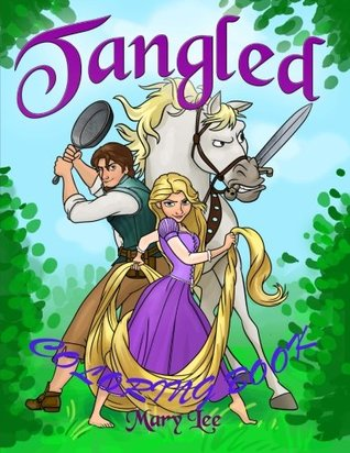 Tangled: Beautiful Rapunzel, coloring book for kids, activity book for children ages 2-5