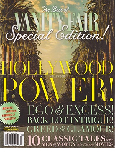 Vanity Fair Special Edition (Hollywood Power) 2015
