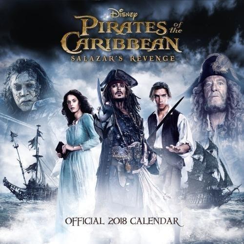 Pirates of the Caribbean 5 Salazar's Revenge Official 2018 Calendar - Square Wall Format Calendar (Calendar 2018)