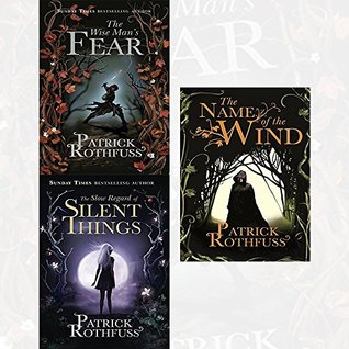 Kingkiller Chronicle Patrick Rothfuss Collection 3 Books Box Set -GiftBox