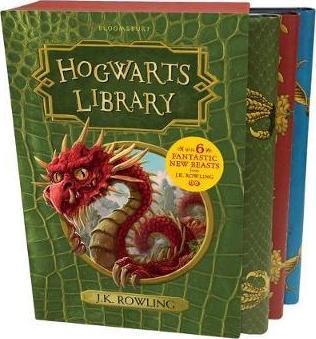 The Hogwarts Library Box Set, 3 Volumes [Hardcover] [Apr 20, 2017] J K Rowling
