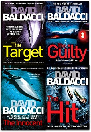 Will Robie Series 4 Books Collection: Hit / The Innocent / The Target / The Guilty