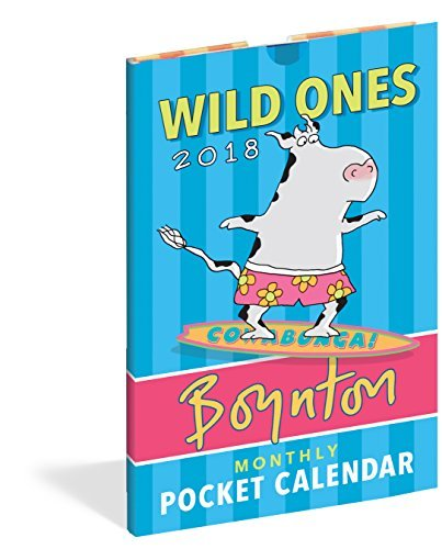 Wild Ones Pocket Calendar 2018