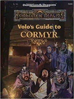 Volo's Guide to Cormyr: Forgotten Realms Accessory