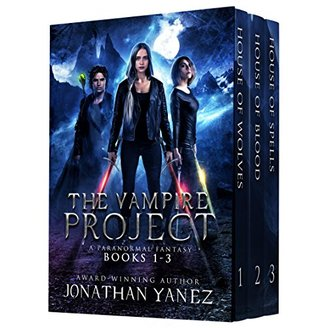 The Vampire Project Box Set (The Vampire Project #1-3)