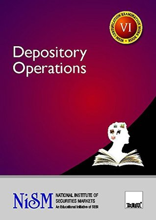 Depository Operations (2017 Edition-Updated till June 2016)