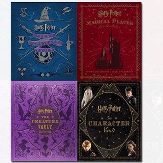 Harry Potter Collection 4 Books Bundle By Jody Revenson