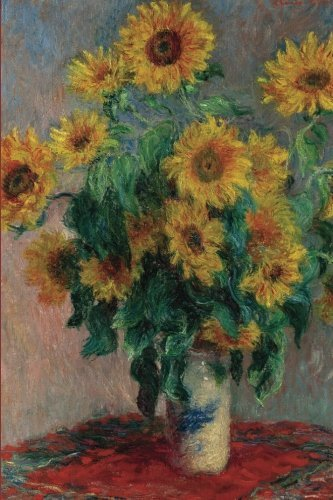 Claude Monet's 'sunflowers' Art of Life Journal