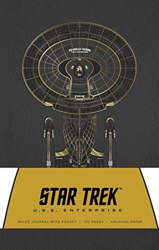 Star Trek Hardcover Ruled Journal: U.S.S. Enterprise