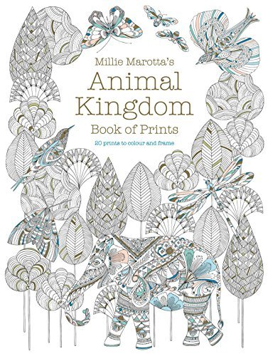 Animal Kingdom Book of Prints (Colouring Books)