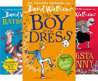 David Walliams 5 Books Collection: The Boy in the Dress / Mr Stink / Billionaire Boy / Gangsta Granny / Ratburger