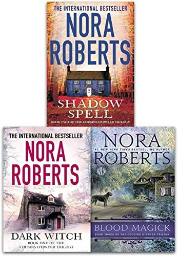 The Cousins O'Dwyer Trilogy 3 Book Collection Set by Nora Roberts