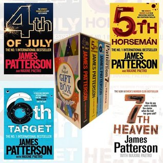 James Patterson (4-7) Collection Womens Murder Club Series 4 Books Bundle Gift Wrapped Slipcase Specially For You