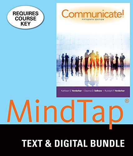 Bundle: Communicate! Loose-leaf version, 15th + LMS Integrated for MindTap Speech, 1 term (6 months) Printed Access Card
