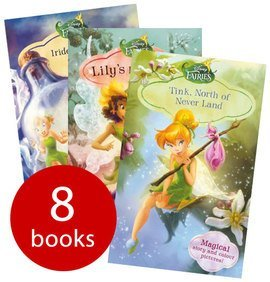 Disney Fairies Chapter Book Collection, (Fawn and the Mysterious Trickster, Lily's Pesky Plant, Beck and the Great Berry Battle, The Trouble with Tink, Vidia and the Fairy Crown, Silvermist and the Ladybird Curse, Iridessa, Lost at Sea and Tink, Nort