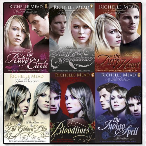 Richelle Mead Bloodlines 6 Books Collection Set