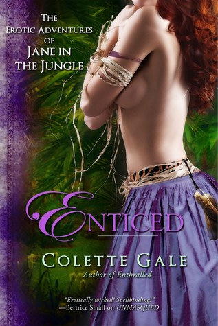 Enticed: An Erotic Sacrifice (The Erotic Adventures of Jane in the Jungle, #4)