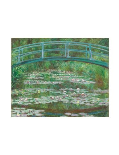 "Claude Monet ""The Japanese Footbridge"" Notebook: Decorative Notebook - 70 Sheet   Ruled   8.5"" x 11"""