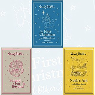 Enid Blyton gift edition 3 Books Bundle Collection with Gift Journal (The First Christmas and Other Bible Stories: New Testament, The Land of Far Beyond: Enid Blyton's retelling of the Pilgrim's Progress, Noah's Ark and Other Bible Stories: Old Testament)