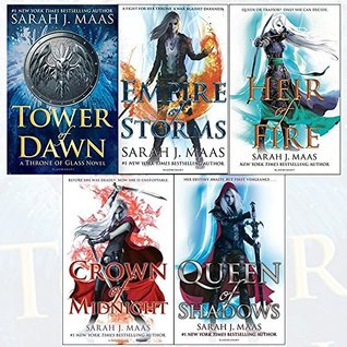 Throne of Glass Series Sarah J. Maas Collection 5 Books Set