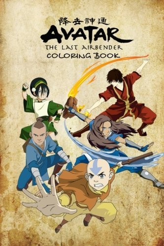 Avatar the Last Airbender Coloring Book: Coloring Book for Kids and Adults - 25+ Illustrations