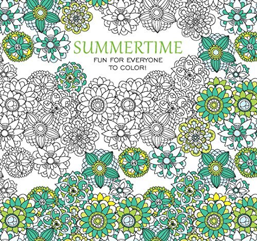 Summertime, Fun for Everyone to Color | Leisure Arts (6910)
