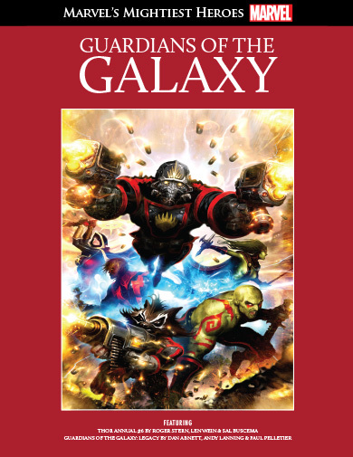 Guardians Of The Galaxy (Marvel's Mightiest Heroes Graphic Novel Collection #19)