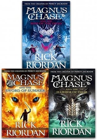 Image result for magnus chase trilogy