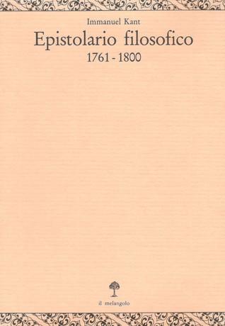 Epistolario filosofico (1761-1800)