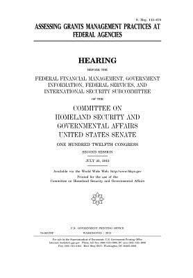 Assessing Grants Management Practices at Federal Agencies