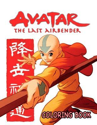 Avatar: The Last Airbender Coloring Book. Great Activity Book for Kids and Adults