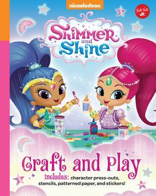 Nickelodeon's Shimmer and Shine: Craft and Play: Get crafty with Shimmer and Shine using this project book and the included cute press-outs, patterned paper, stencils & stickers!