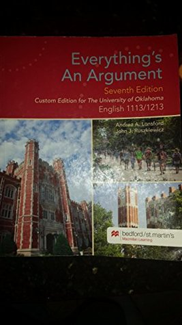 Everything's An Argument, 7th Edition, OU Custom Edition