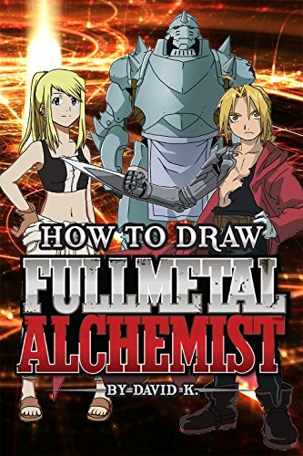 How to Draw Full Metal Alchemist: The Step-by-Step Full Metal Alchemist Drawing Book