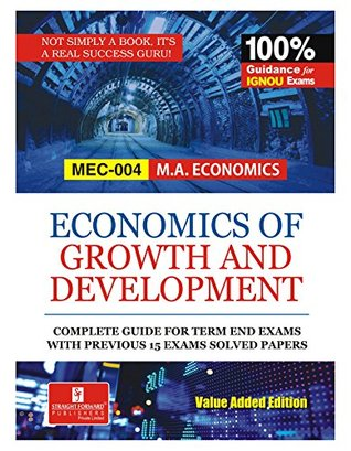 Economic Growth And Development (Mec-04)