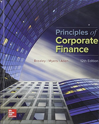 Principles of Corporate Finance with Connect