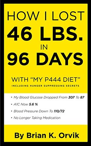 "How I Lost 46 Lbs. In 96 Days With ""My P444 Diet"""