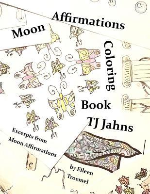 Moon Affirmations Coloring Book