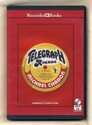 Telegraph Avenue by Michael Chabon Unabridged MP3 CD Audiobook