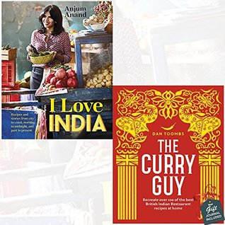 I Love India and The Curry Guy 2 Books Bundle Collection With Gift Journal - Recreate Over 100 of the Best British Indian Restaurant Recipes at Home