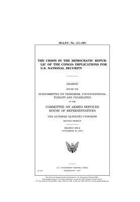 The Crisis in the Democratic Republic of the Congo: Implications for U.S. National Security