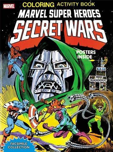 Marvel Super Heroes Secret Wars: Coloring Activity Book: Facsimile Collection