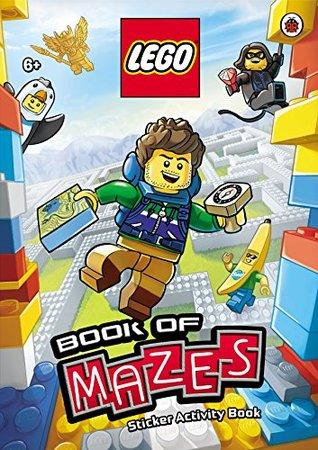 LEGO Book of Mazes Sticker Activity Book
