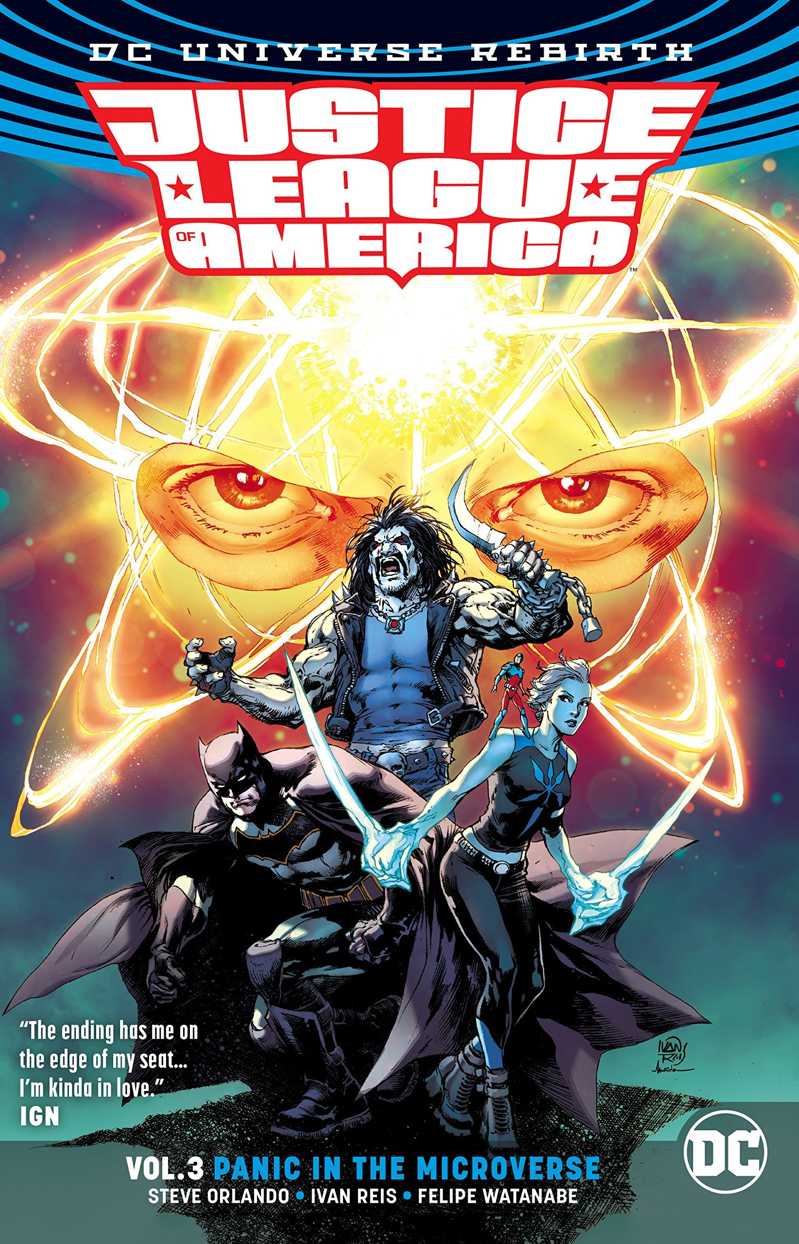 Justice League of America, Vol. 3: Panic in the Microverse