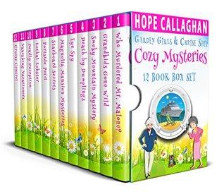 Garden Girls & Cruise Ship Cozy Mysteries: 12 Book Box Set (Garden Girls #1-6)(Cruise Ship Mysteries #1-6)