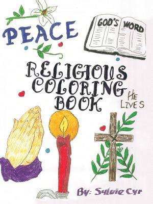 Religious Coloring Book by Sylvie Cyr