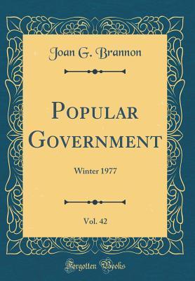 Popular Government, Vol. 42: Winter 1977