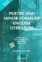 Poetry and Minor Forms of English Literature