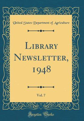 Library Newsletter, 1948, Vol. 7