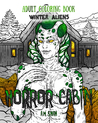 Adult Coloring Book Horror Cabin by A.M. Shah